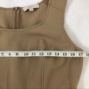 LOFT Dresses - Loft Ann Taylor Career Pencil Skirt Dress Fitted
